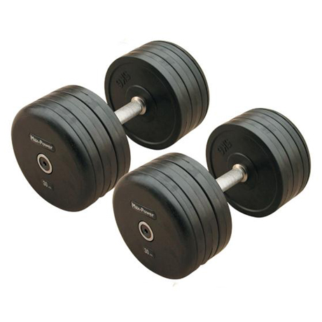 Professional style Rubber Coated Dumbbell