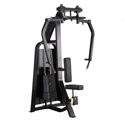 Rear Delt & Pec Fly Used As Selectorized Fitness Equipment With Pretty Welding
