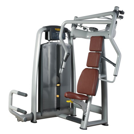 Seated Chest Press Used As Fitness Equipment With 60x120x3mm Steel Tube