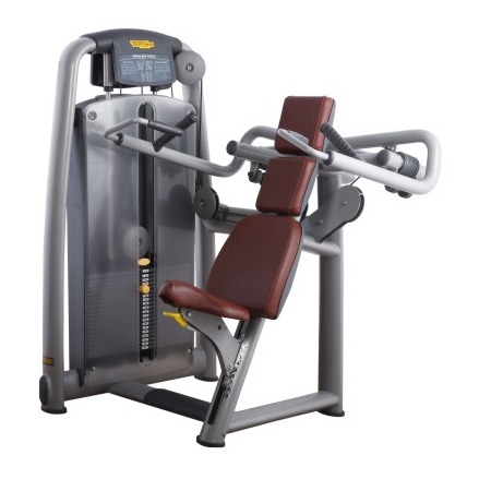 Shoulder Press Used As Fitness Machine With Excellent Painting