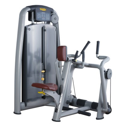 Seated Row Used As Sports Machine With Heavy Steel Tube