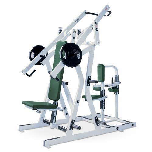 Iso-Lateral Chest & Back Used As Hammer Strength Fitness Machine With Good Painting