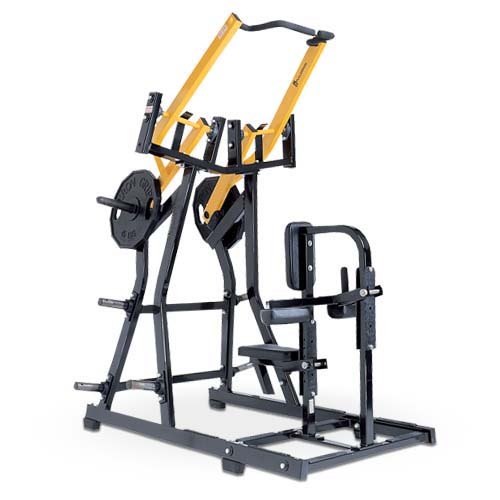 Iso-Lateral Front Lat Pulldown Used As Hammer Strength Sports Machine With 40x80x3mm Steel Tube
