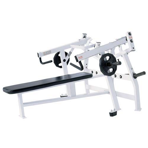Iso-Lateral Horizontal Bench Press Used As Hammer Strength Exercise Machine With Good Leather