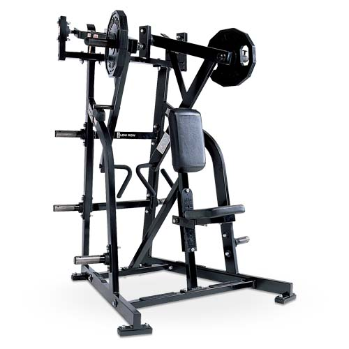 Iso-Lateral Low Row Used As Hammer Strength Body Building Machine With Sturdy Package