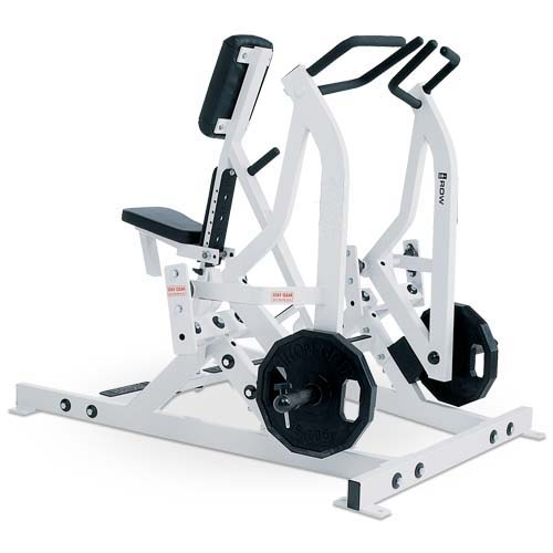 Iso-Lateral Rowing Used As Hammer Strength Fitness Machine With Good Steel Tube