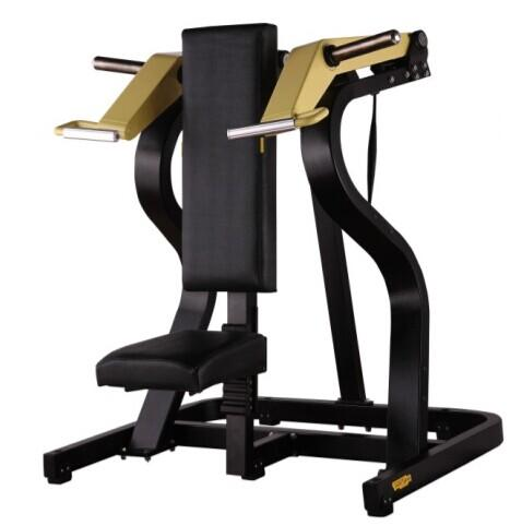 Shoulder Press Used As Sports Equipment With Pretty PU Leather