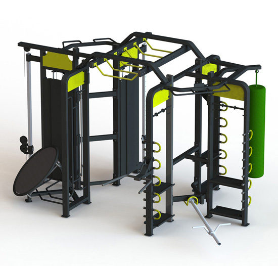 Group Training Fitness Equipment Synrgy360 with excelent painting
