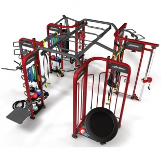 Lifefitness Group Training Fitness Equipment Synrgy360 with high quality steel tube