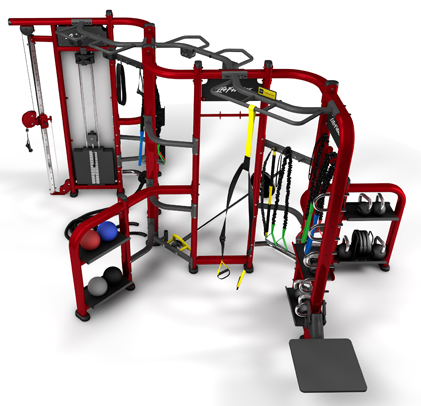 Lifefitness Group Training Fitness Equipment Synrgy360 with Professional Design