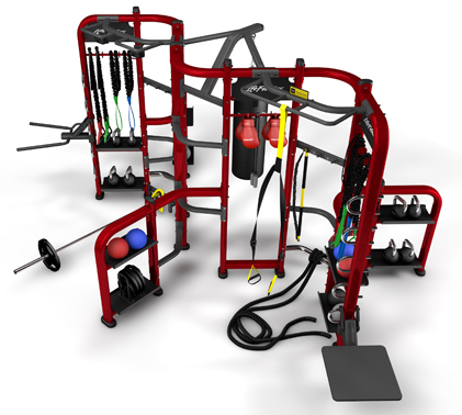 Lifefitness Group Training Fitness Equipment Synrgy360 with Attractive Surface Finish