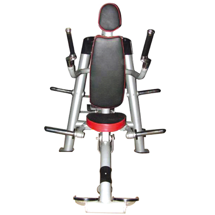 Seated Dip Used As Selectorized Gym Equipment With Good Design