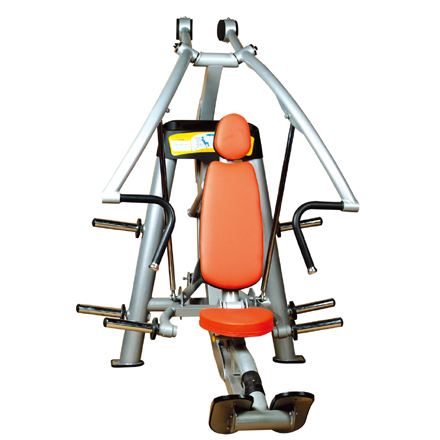 Chest Press Used As Selectorized Gym Equipment With Good Design.