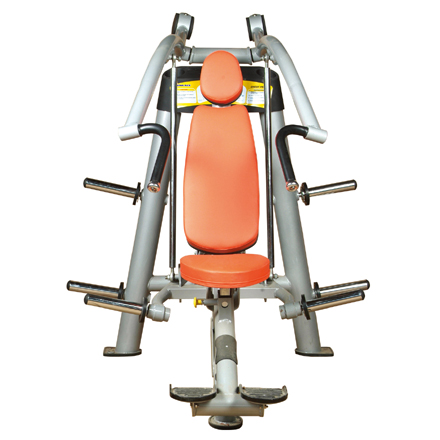 Incline Chest Press Used As Selectorized Gym Equipment With Good Design