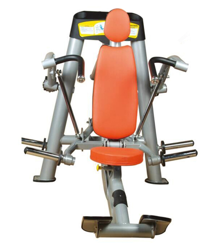 Shoulder Press Used As Selectorized Gym Equipment With Good Design