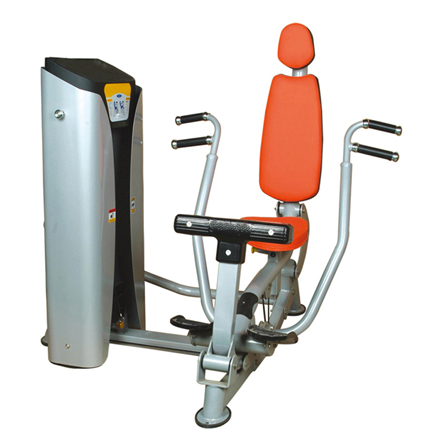 Chest Press Used As Selectorized Gym Equipment With Good Design