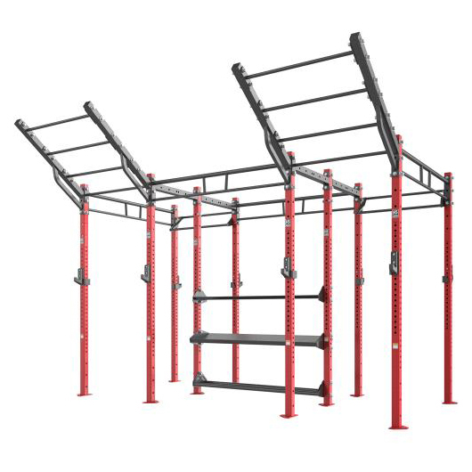 Rig with Center Storage and Wings Used As Gym Equipment with 3mm Thickness Steel Tube